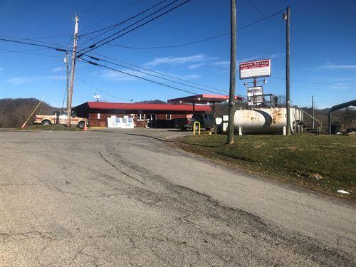Mini Mart Gas Station South Holston : Abingdon : Washington County : Virginia