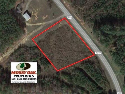 1.52 Acres of Commercial Land For : Littleton : Warren County : North Carolina