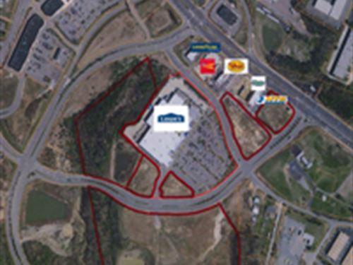 Retail Commercial Land : Fredericksburg : Stafford County : Virginia