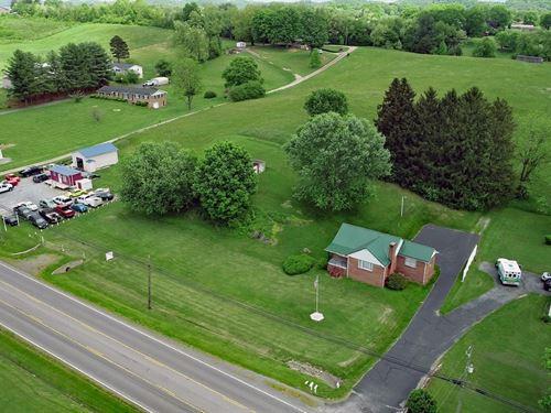Commercial Residential Property : Abingdon : Washington County : Virginia