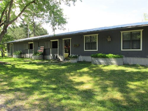 Event Center Business 115 Acres : Broken Bow : McCurtain County : Oklahoma