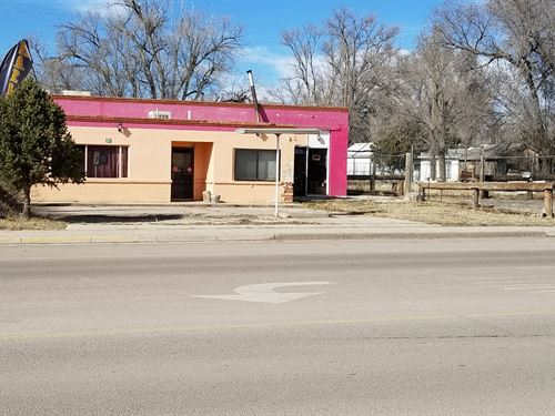 Commercial Building Downtown : Estancia : Torrance County : New Mexico