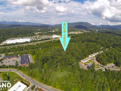 Over 9 Acres of Commercial Land Wit : Asheville : Buncombe County : North Carolina
