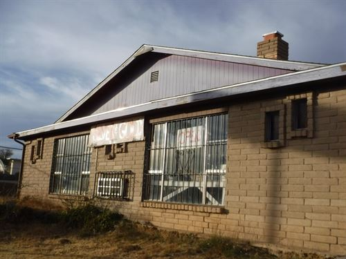 Residential/Commercial Building : Silver City : Grant County : New Mexico