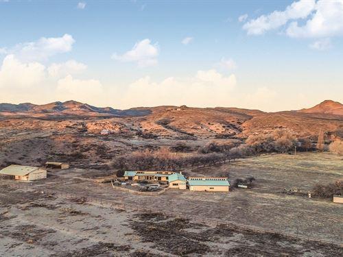 New Mexico Farm & Ranch Auction : Hillsboro : Sierra County : New Mexico