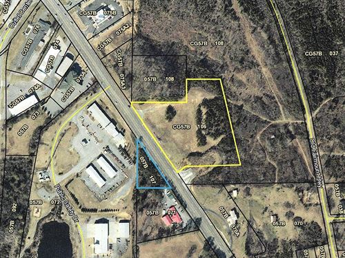 5.5 Acres, Zoned C-2 Commercial : Calhoun : Gordon County : Georgia
