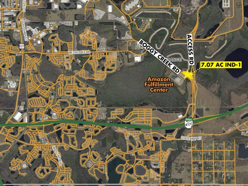 Boggy Creek Industrial Land : Orlando : Orange County : Florida