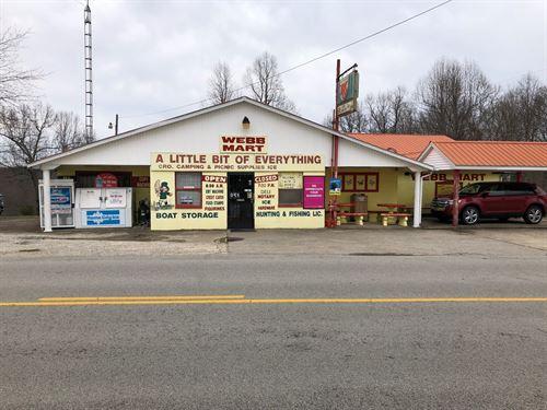 Turnkey Store Business Nolin Lake : Mammoth Cave : Edmonson County : Kentucky