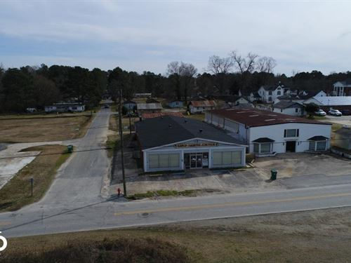 Railroad St, Commercial Buildings : Kenly : Johnston County : North Carolina