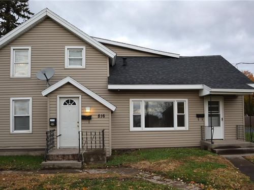 Multi-Use 4 Unit Property Coffeen : Watertown : Jefferson County : New York