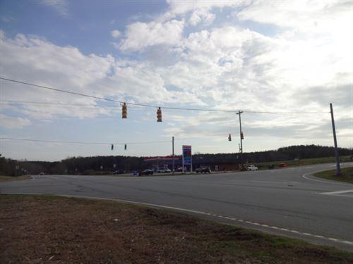 47.50 Acres, Stop Light Access : Westminster : Oconee County : South Carolina