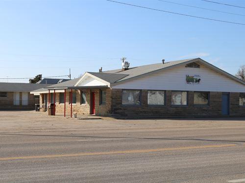 Restaurant & Motel Coldwater : Coldwater : Comanche County : Kansas