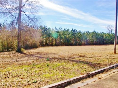 Commercial Lot For Sale Near Hwy 98 : McComb : Pike County : Mississippi