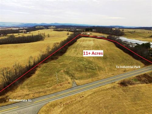 Large Commercial Development : Rural Retreat : Wythe County : Virginia