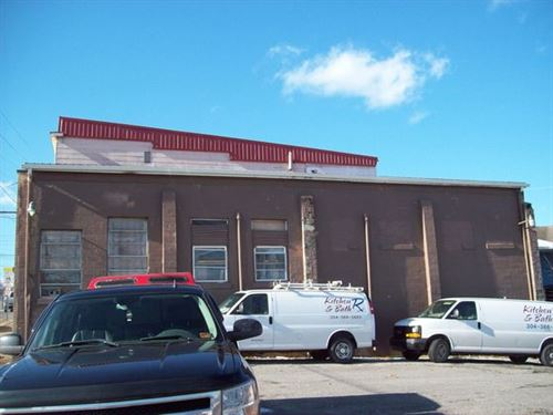 8148 Square Foot Warehouse : Fairmont : Marion County : West Virginia