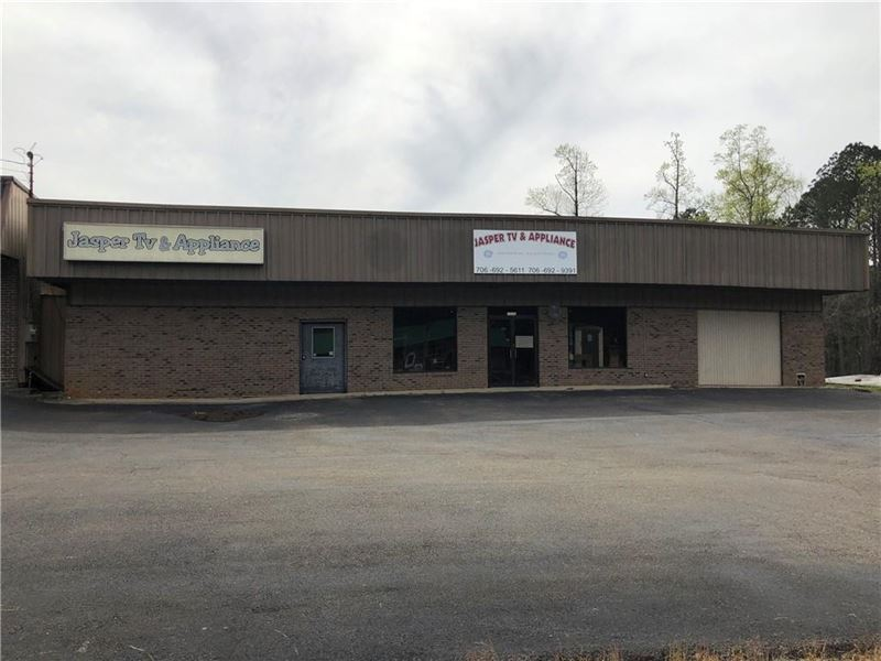 Great Location-Commercial Property : Jasper : Pickens County : Georgia