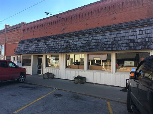 Former King City Grocery Store : King City : Gentry County : Missouri