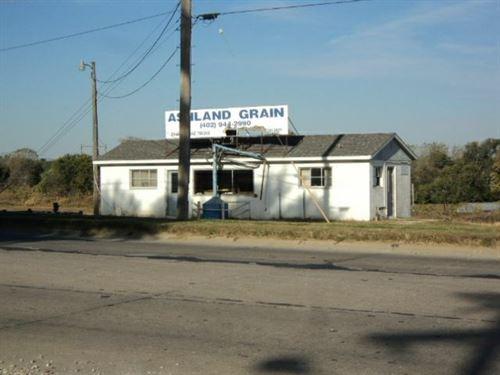 Highly Visible Commercial Lots : Ashland : Saunders County : Nebraska