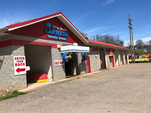 Prime Commercial Lot, Carwash : Spencer : Roane County : West Virginia