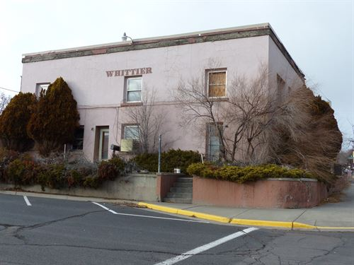 Historic Whittier Hotel Downtown : Burns : Harney County : Oregon