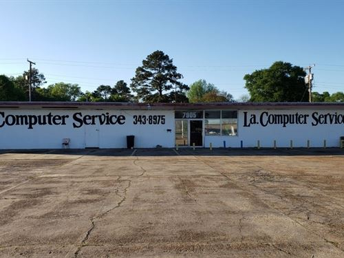 Commercial Building In Monroe LA : Monroe : Ouachita Parish : Louisiana