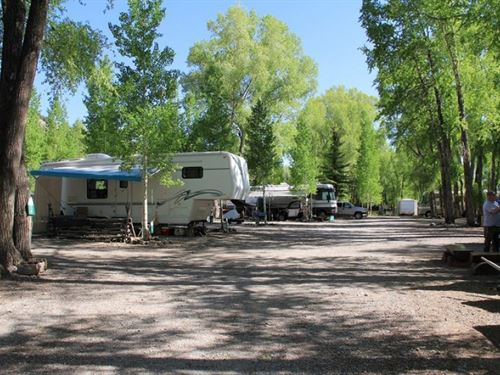 River Fork Rv Park : Lake City : Hinsdale County : Colorado