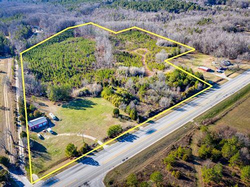 Augusta Road Homesite & Commercial : Honea Path : Greenville County : South Carolina