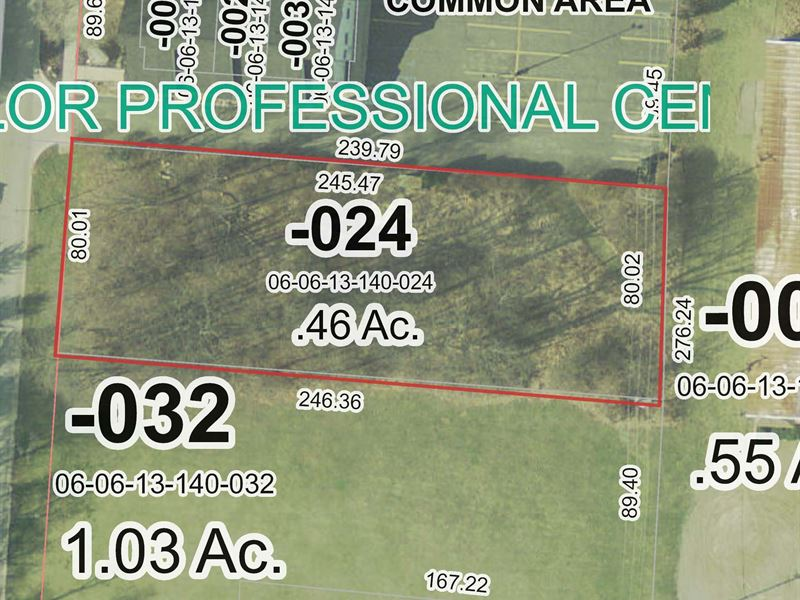 C-2 Zoned Land For Sale In Chelsea : Chelsea : Washtenaw County : Michigan