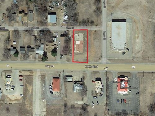 Commercial Lot In Alva, OK : Alva : Woods County : Oklahoma