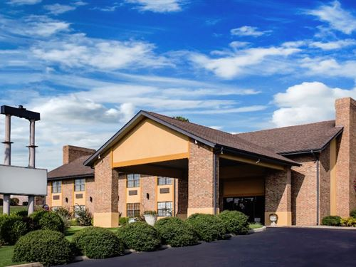Hotel For Sale In Arkansas : Paragould : Greene County : Arkansas