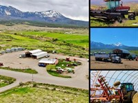 Colorado Fertilizer Business Real : Paonia : Delta County : Colorado