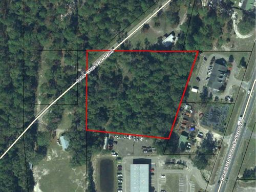 Land For Sale : Crawfordville : Wakulla County : Florida