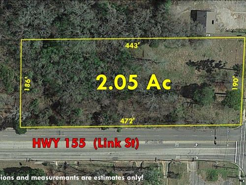 Vacant Commercial Land Palestine : Palestine : Anderson County : Texas