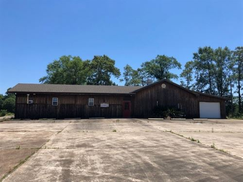 Commercial Building And 2 Acres : Tylertown : Pike County : Mississippi