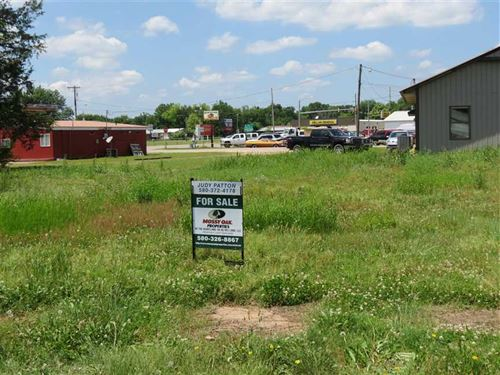 New Commercial Lot in High Traffic : Antlers : Pushmataha County : Oklahoma