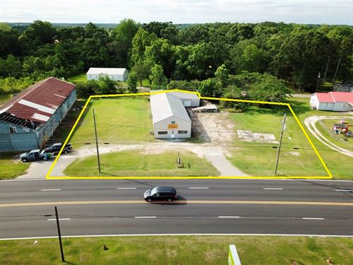 Commercial Building 4464 Sq Ft : Slocomb : Geneva County : Alabama
