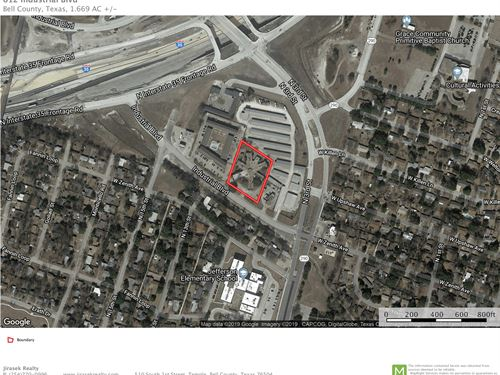Redevelopment Site, Industrial Blvd : Temple : Bell County : Texas