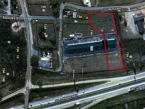Commercial Building Available : Unadilla : Dooly County : Georgia