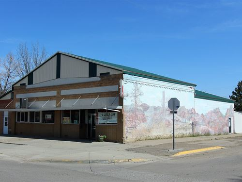 Commercial Building Kitchen : Glendive : Dawson County : Montana