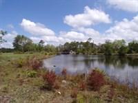 Homesite and Pondhouse : Jesup : Wayne County : Georgia
