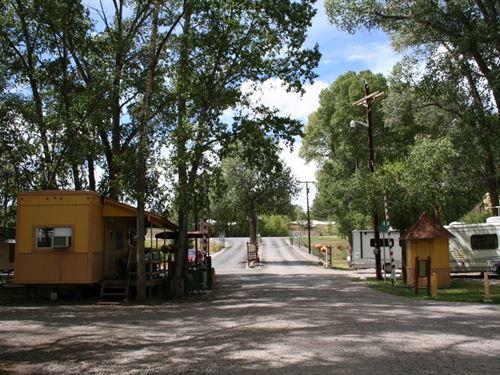 Rio Chama RV Park & Campground : Chama : Rio Arriba County : New Mexico