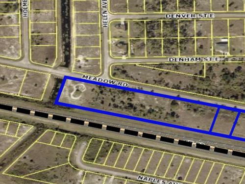 Strategically Located Comm, Lot : Lehigh Acres : Lee County : Florida