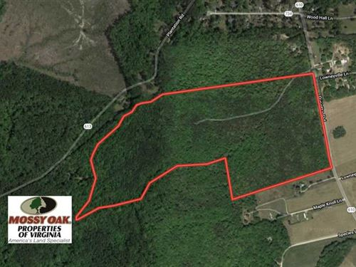 91 Acres of Undeveloped Residentia : Gloucester : Virginia