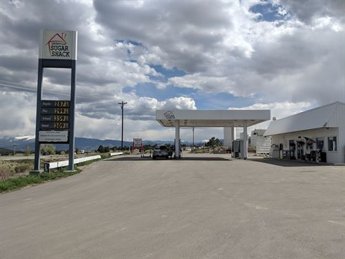 Convenience Store Gas Station : Nathrop : Chaffee County : Colorado