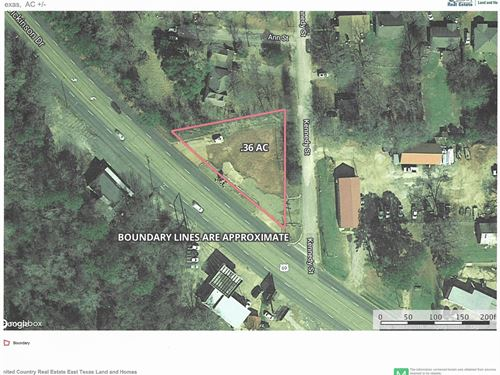 Commercial Property, Rusk, TX Real : Rusk : Cherokee County : Texas