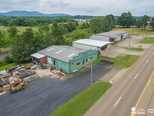 Commercial Warehouse US : Mena : Polk County : Arkansas