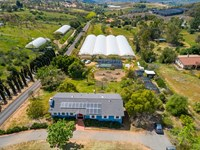 Sustainable Farming Property : Escondido : San Diego County : California