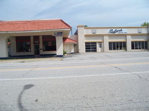 NE Oklahoma Route 66 Afton Station : Afton : Ottawa County : Oklahoma