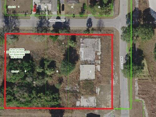 Commercial Lot In Dade City : Dade City : Pasco County : Florida