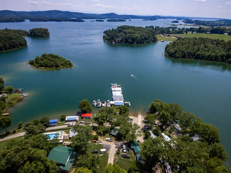 Cherokee Lakefront Campground : Property for Sale : Rutledge : Grainger  County : Tennessee